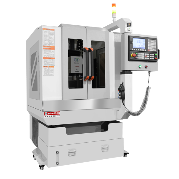 DA-400GQ Automatic Single Axis CNC Engraving Machine Manufacturer For Phone Glass