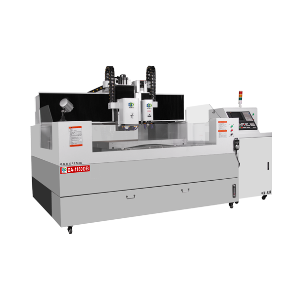 DA-1180DB Large High Precision CNC Machine for 3D Carving for Phone Back Cover/TV Frame,Panel