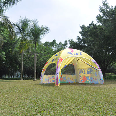 How to choose a good outdoor inflatable bell tent