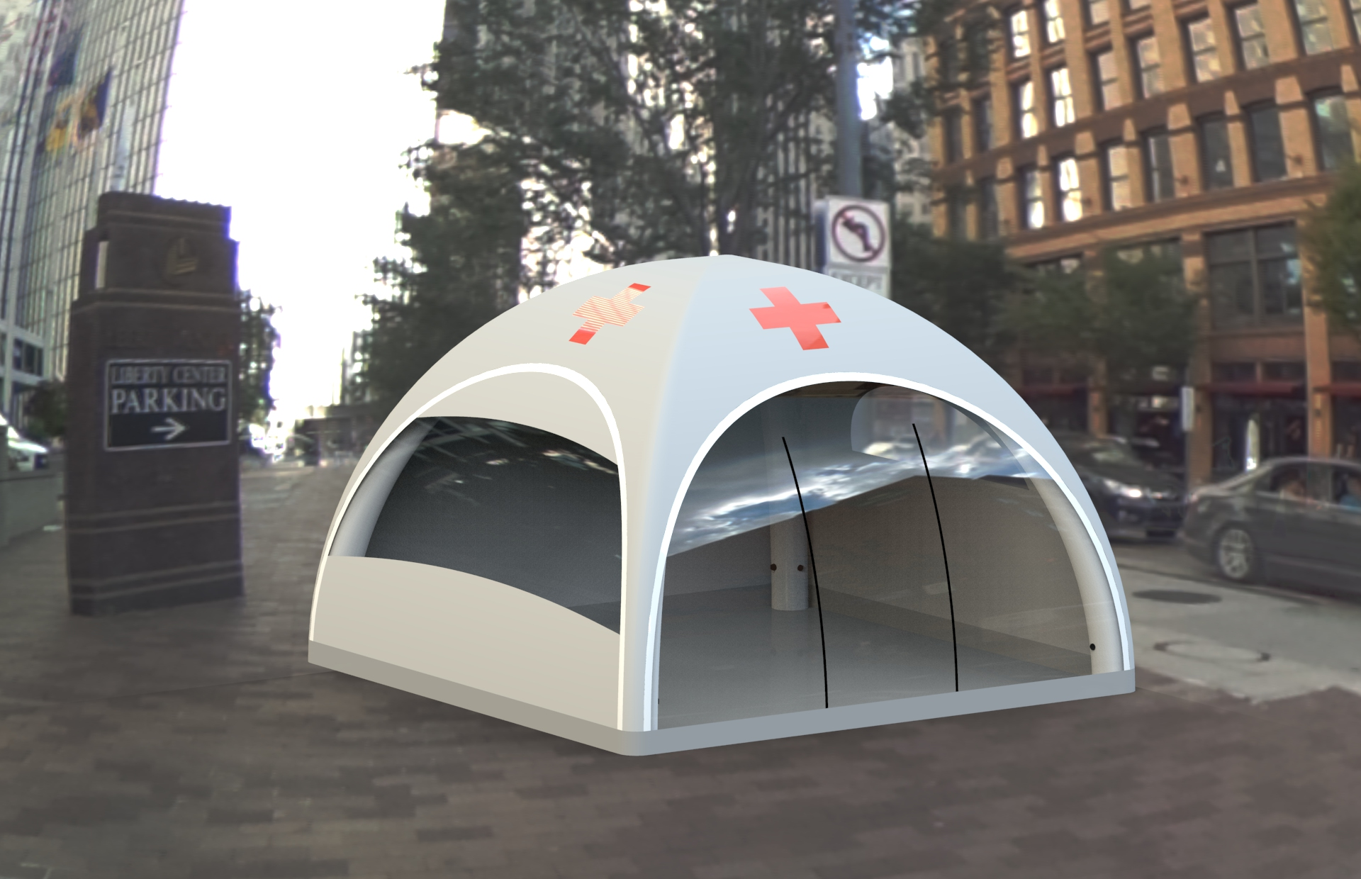 Medical tent optional A