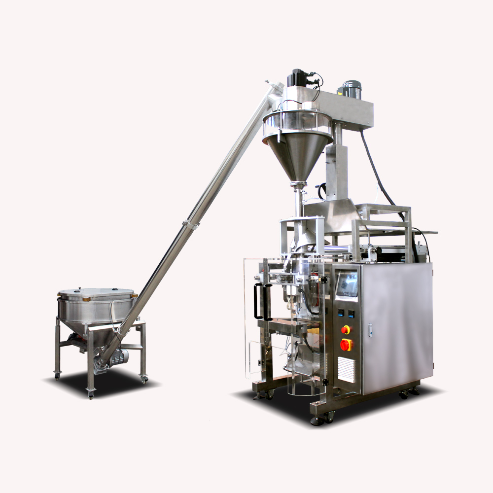 How Is Calcium Carbonate Powder Packaged?(Filling Packing Machine)