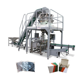 OEM Automatic Screw Packing Machine Exporter-Cartonning Bagging System
