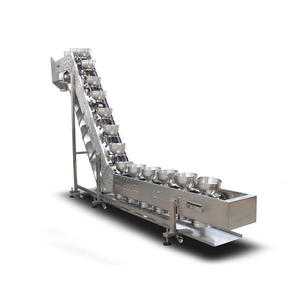 High speed inclined bucket conveyor supplier,inclined bowl conveyor