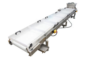 ODM stainless steel flat belt conveyor manufacturer, belt conveyor system