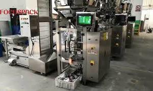 VFFS Packing Machine Mounted with 10 Heads Weigher