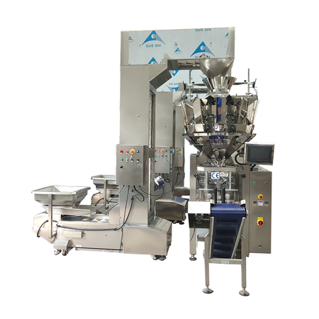 China Granule Packing Machine Manufacturer Mounted with Multihead Weigher