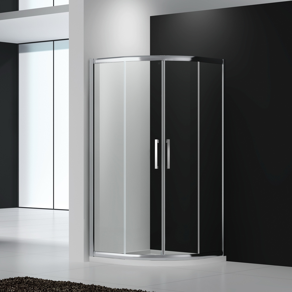 square-shower-enclosure-with-sliding-doors
