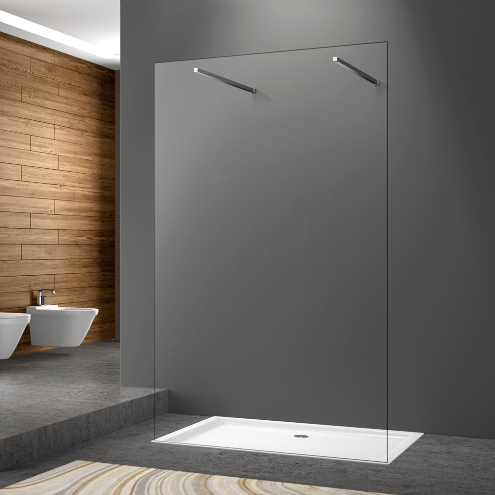 frameless walk-in shower screen