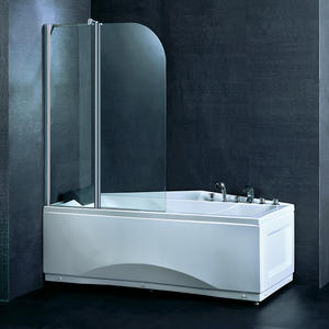 BS05 Adjustable Bathtub Shower Screen