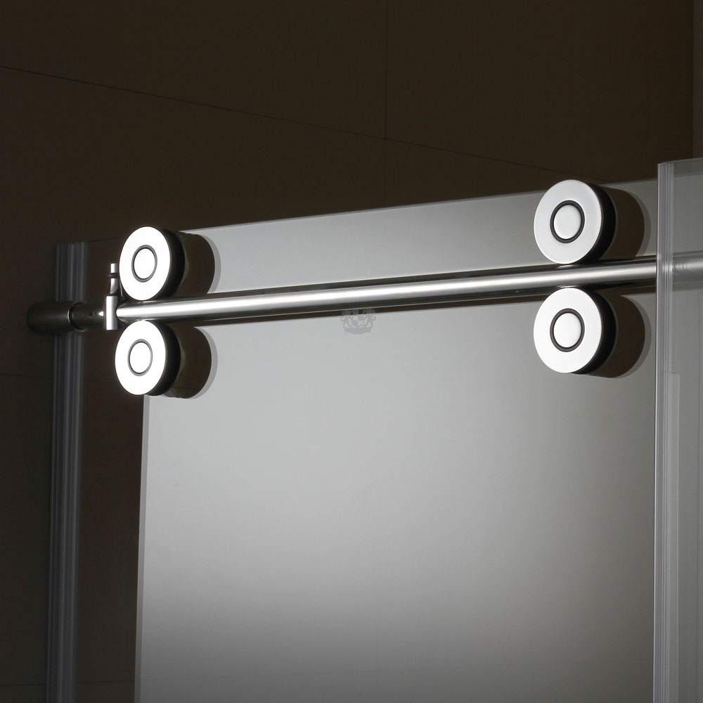 SRY121-4 stainless steel slim frame sliding door