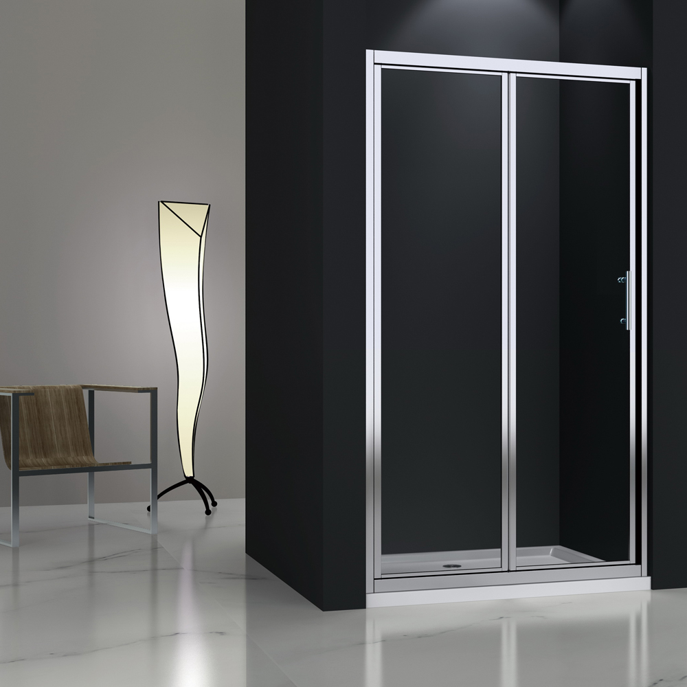 MB123 Glass Bi-fold Shower Door