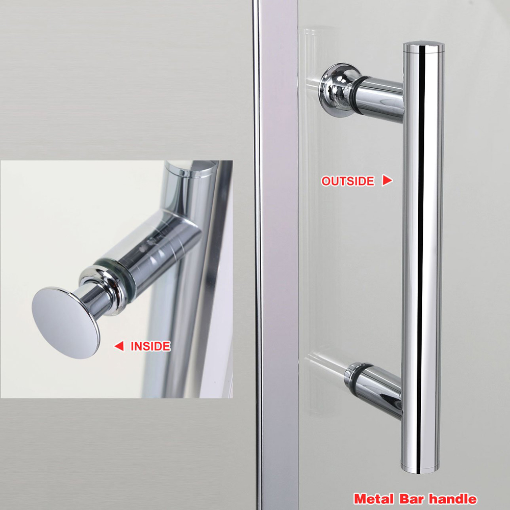 FC124 Double Swing Pivot Shower Door