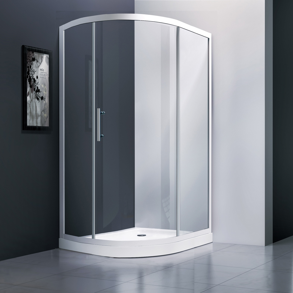 JT231 Single Sliding Door Offset Shower Screen