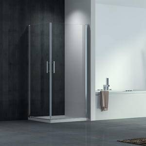 glass pivot shower door