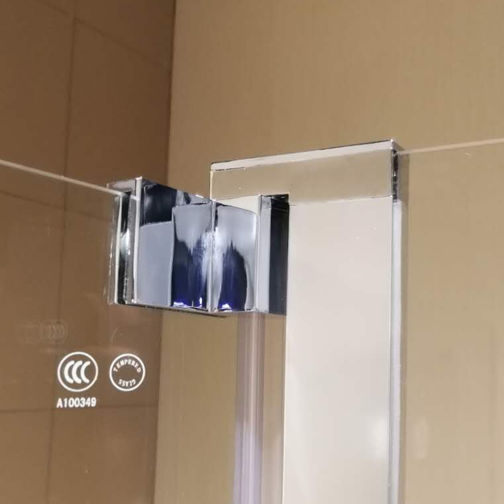 BS16 Fixed and Swing Pivot Bath Shower Screen Panel