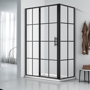 WLD001 533 French Corner Shower Enclosure Screen