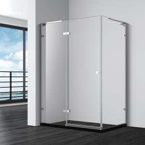 DF533 RECTANGULAR SHOWER ENCLOSURE WITH HINGED DOOR