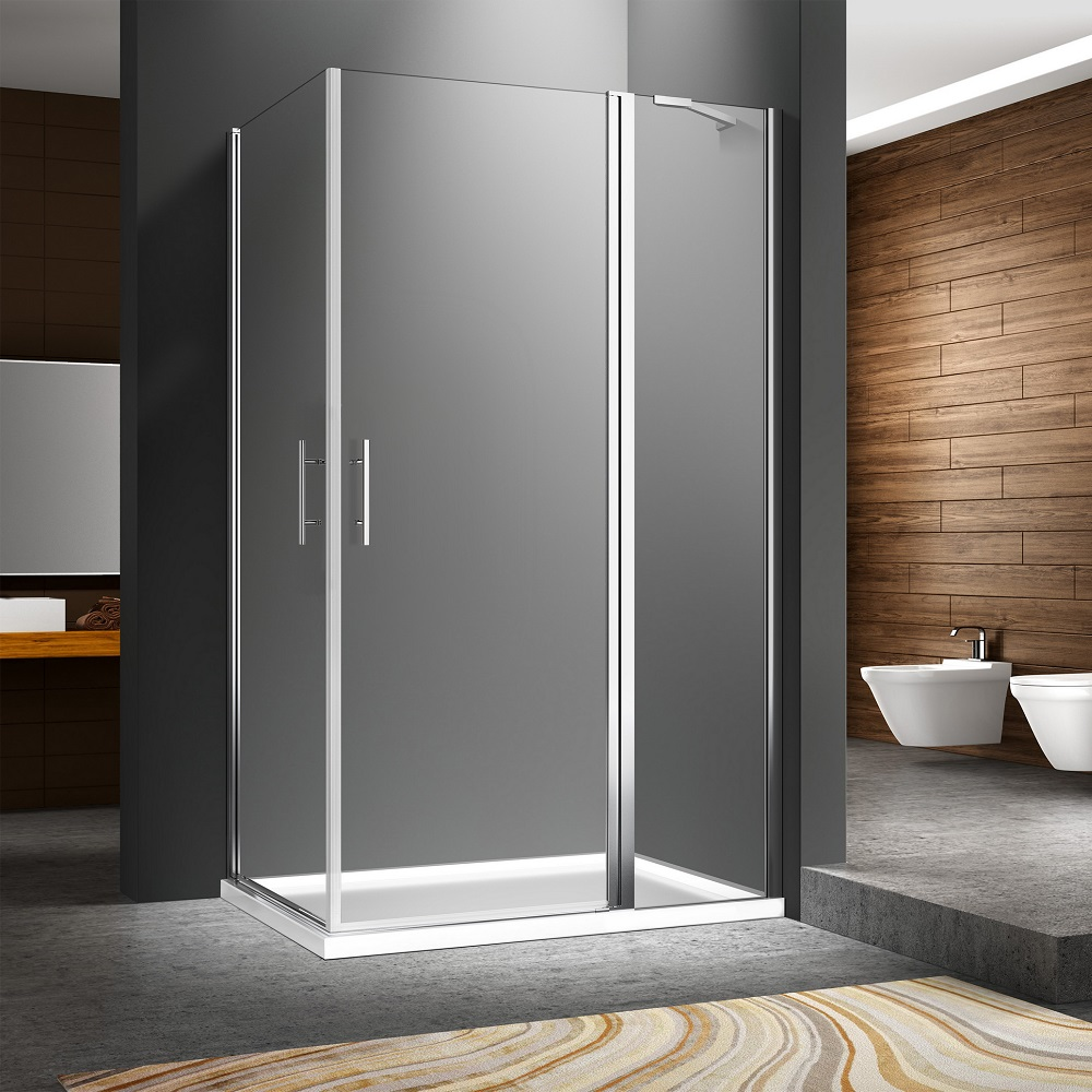 Frameless Pivot Quadrant Shower Enclosure FC534