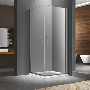 Double swing doors shower enclosure FC524