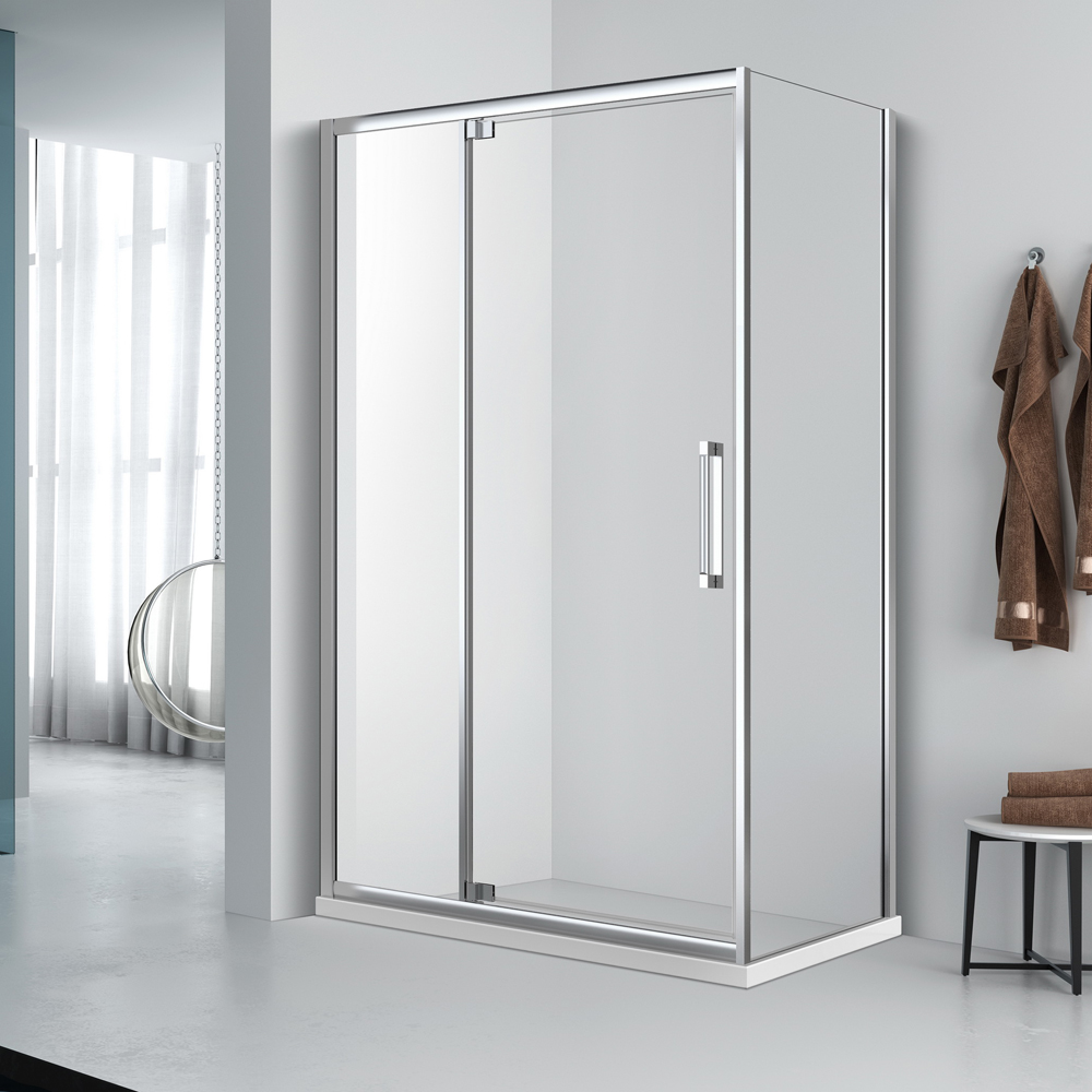 FD533 Rectangle pivot shower door