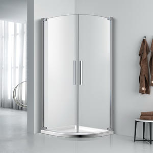 FE224 Quadrant Twin Swing Shower Enclosure