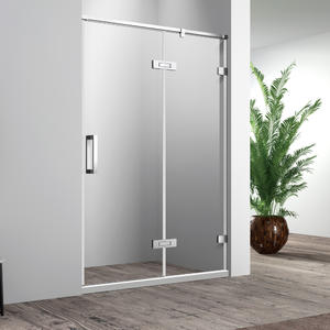 SH 123 recess swing shower door
