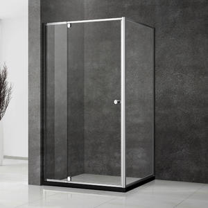 NWL531 Adjustable Pivot Door Shower Enclosure With Slim Frame
