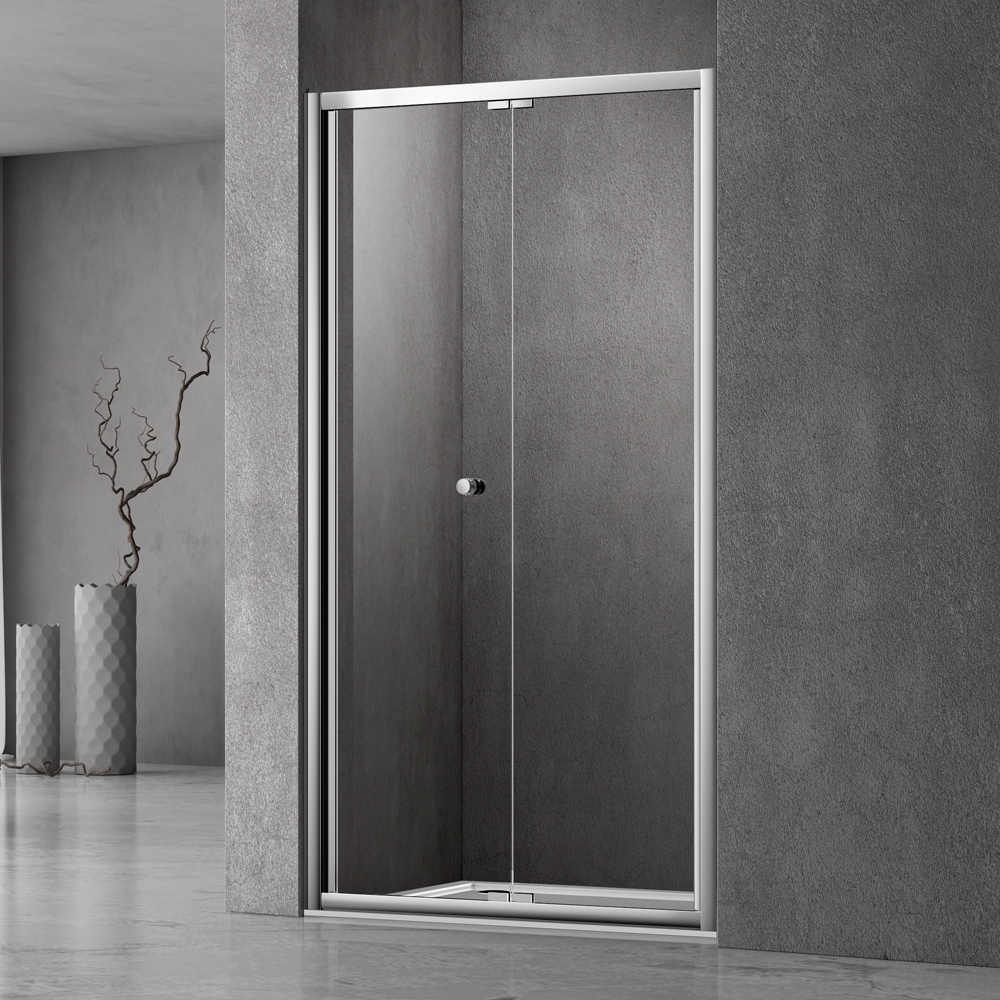 UB123 sliding bifold shower screen door