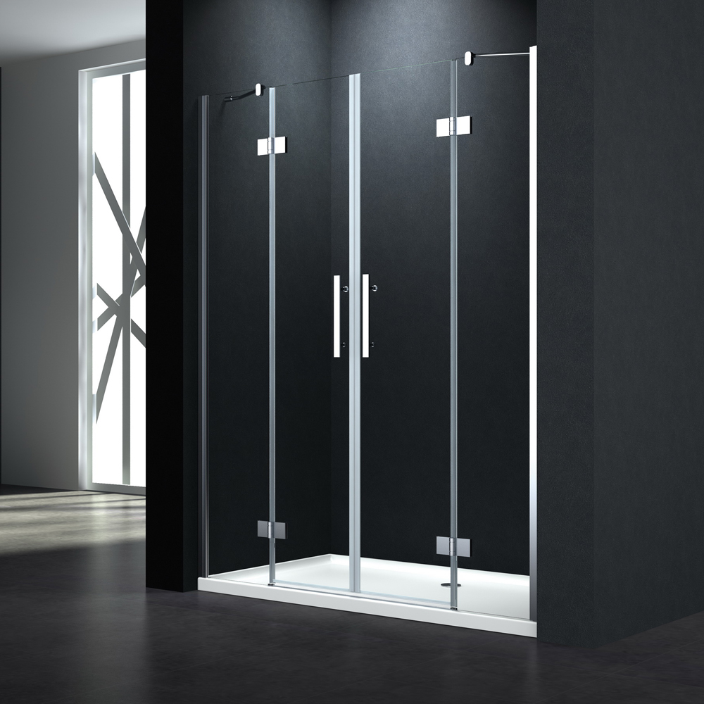 P144 twin swing shower door