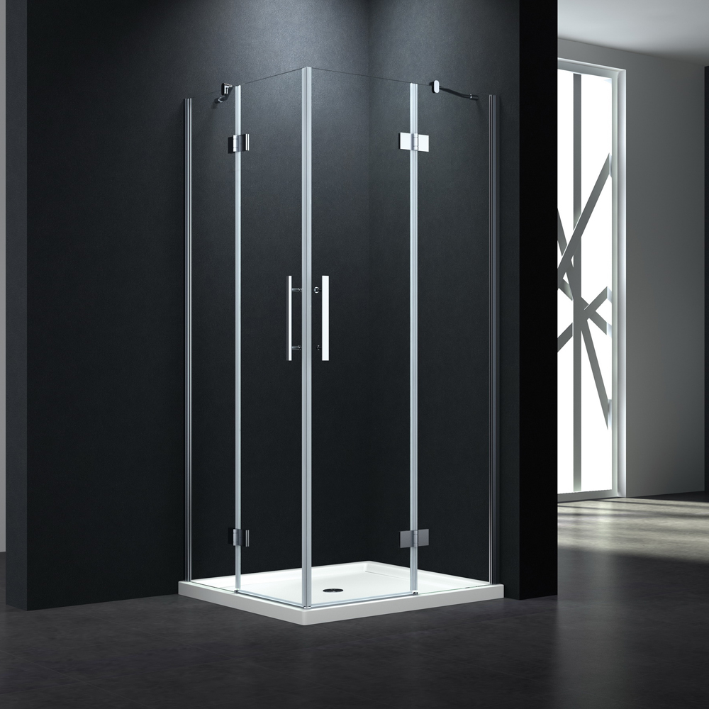 P544 Twin SWing door rectangle shower enclosure