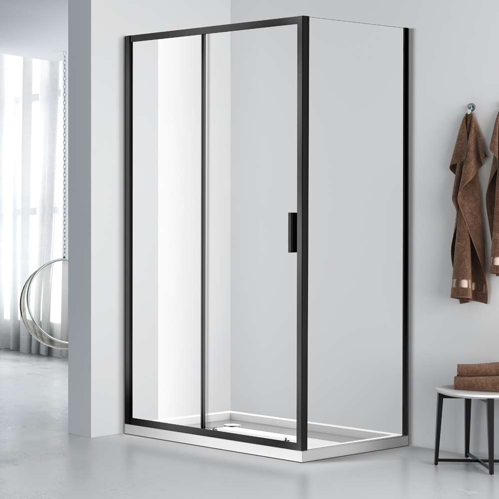 WLD002 531 Express fit install sliding corner shower door