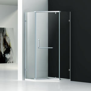 DZ333  diamond corner shower enclosure