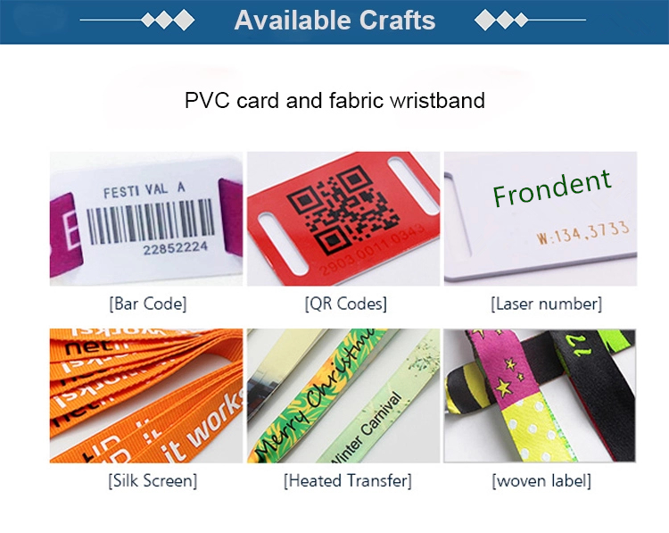Chip Fabric RFID Woven Bracelet Wristband NFC Band