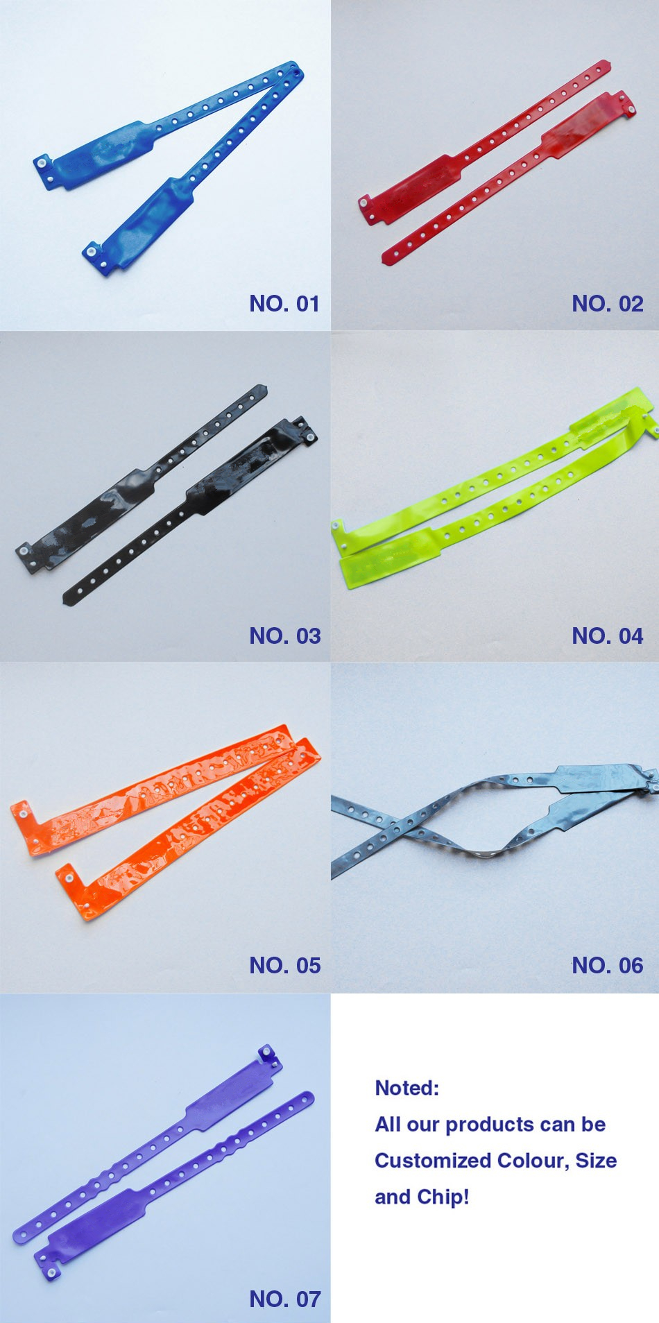 waterproof rfid bracelet