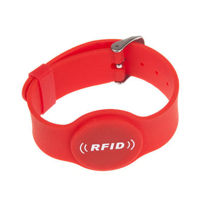 Waterproof Chip NFC RFID Silicone Wristband Watch Type