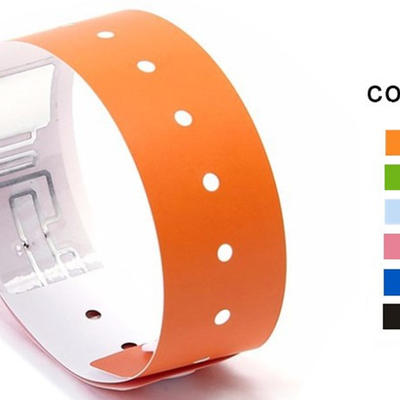 Low Cost Ultralight Chips RFID Wristband for Event