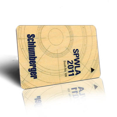 Wooden RFID Card with Ntag213 Chip