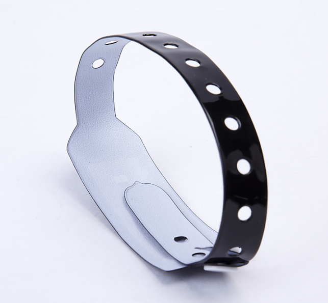 13.56MHz HF Chip PVC Disposable Waterproof RFID Bracelet