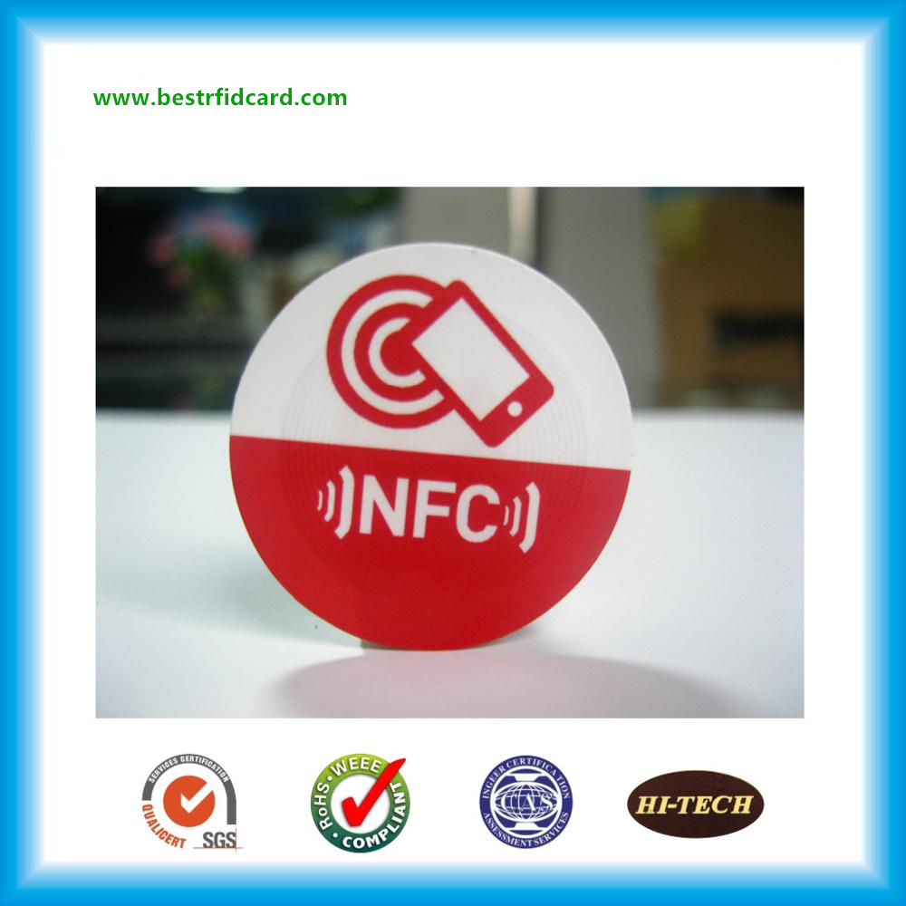 Self Adhesive Waterproof Anti-metal RFID Chip Sticker