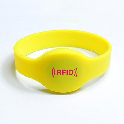 rfid wristbands with RFID chips for access control | waterproof chip nfc rfid silicone wristband