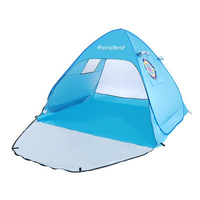 Wholesale Easy Folding Waterproof Sun Protection 2 3 4 Man Outdoor Pop Up Camping Family Beach Tent for Baby and Adult