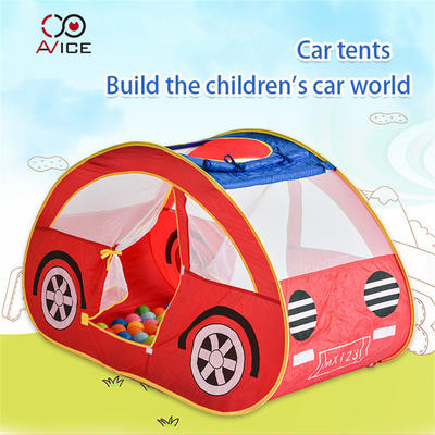The Tents for Kids Camping Outdoor Tent Little Red Car Shape Tent