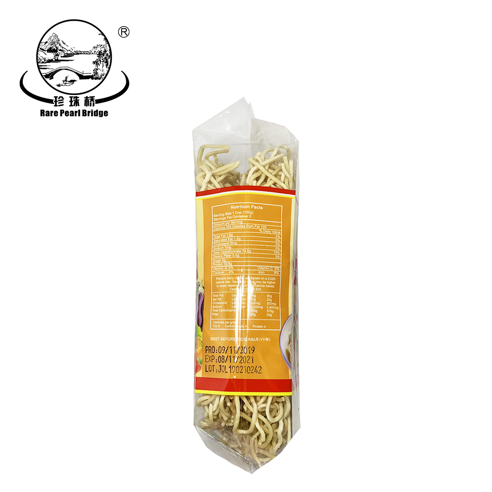 250g Chinese Private Label Egg Noodles Jolion
