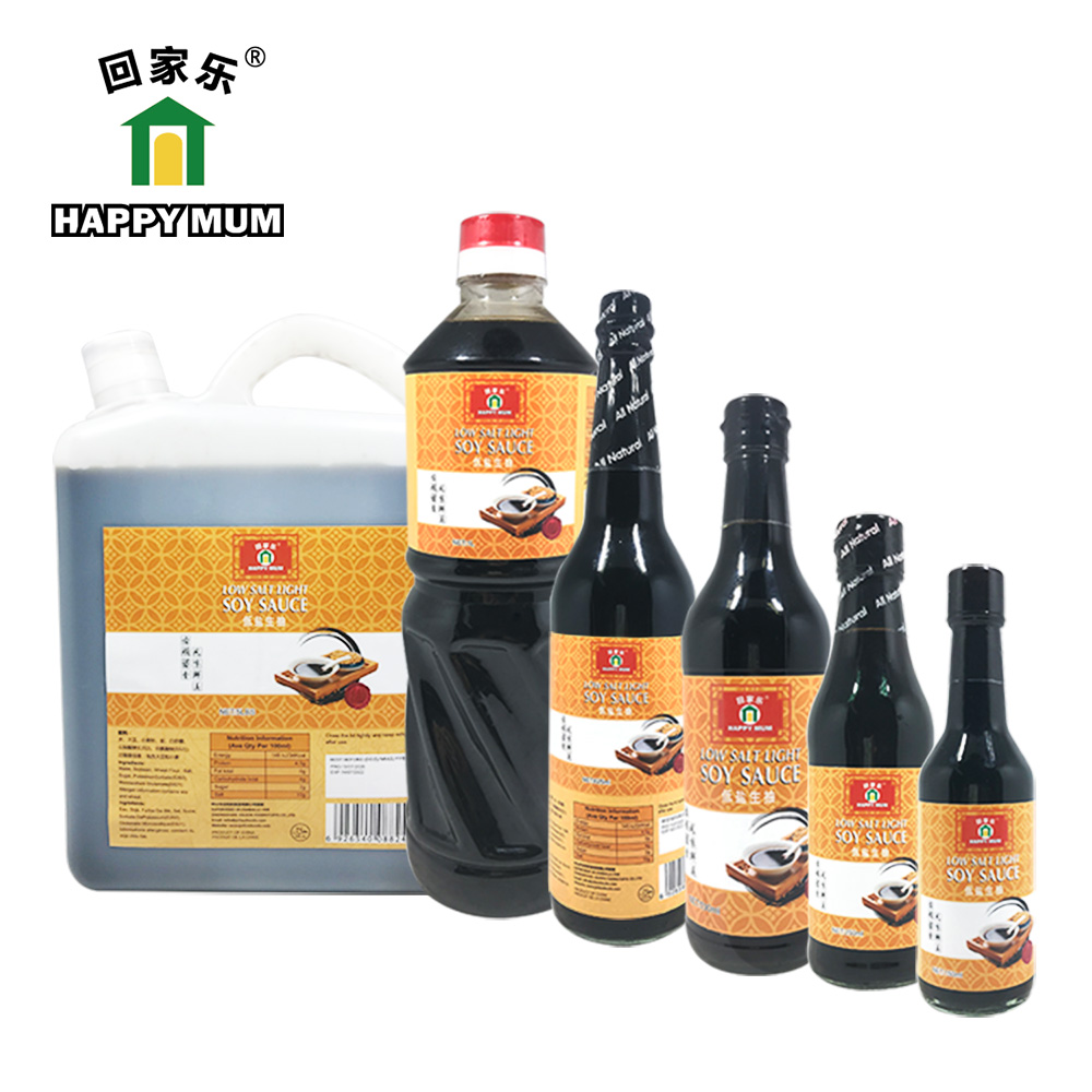 5LBS Superior low salt soy sauce Jolion