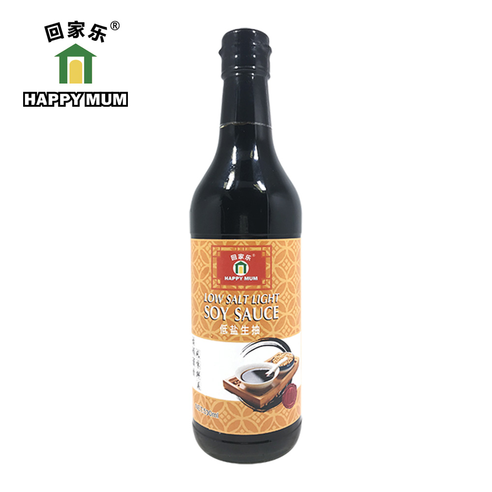 500ML organic low sodium soy sauce Jolion
