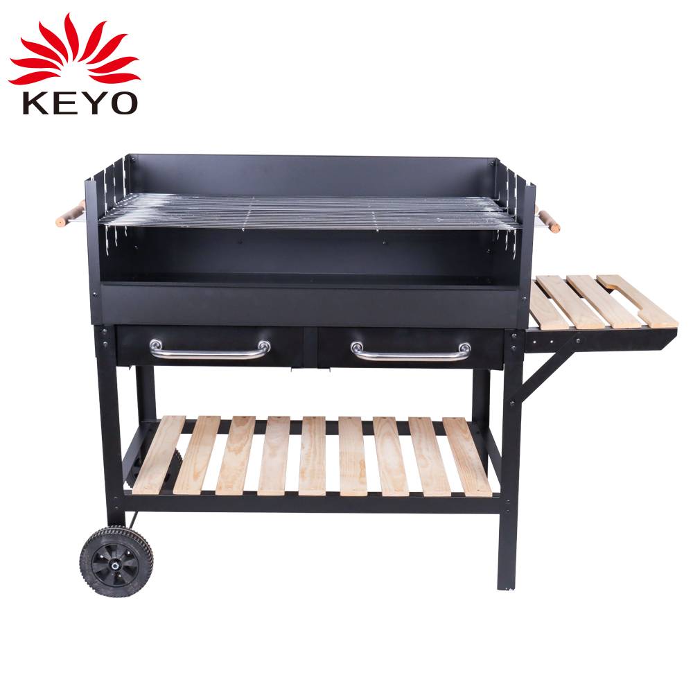 KY28030B Trolley charcoal grill