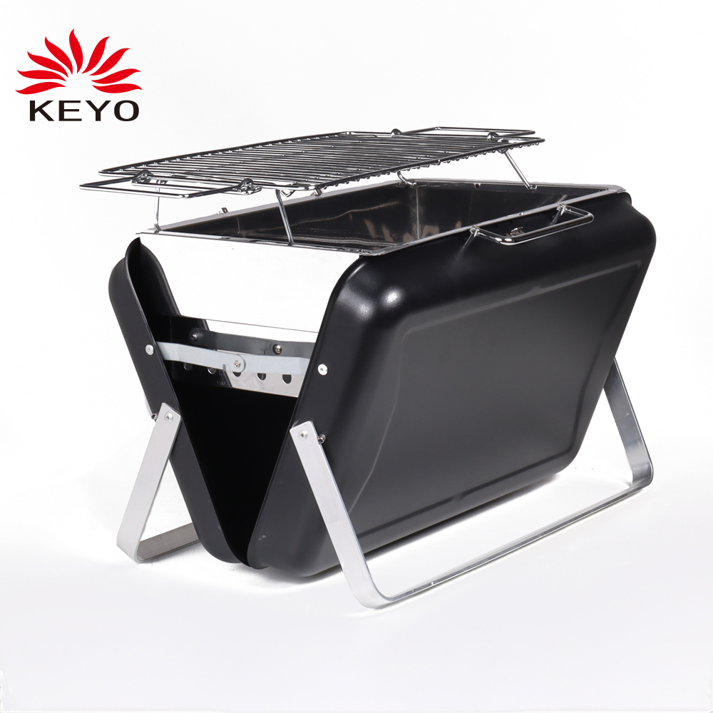KY3413 folding charcoal grill
