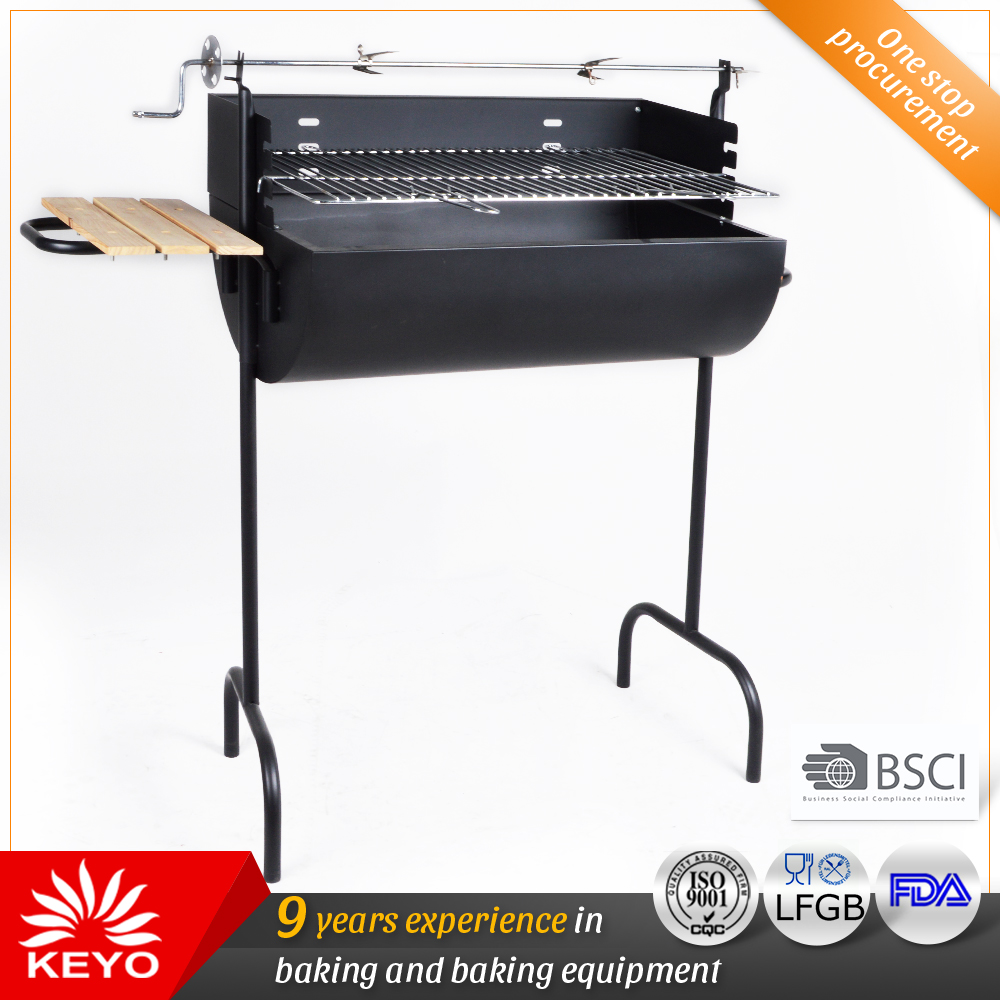 YH1817ZL Barrel Grills with rotisserie