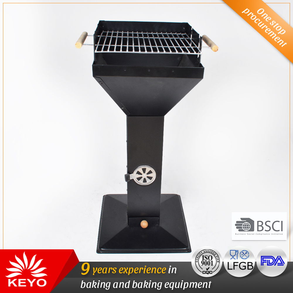 KY28040B Charcoal Pedestal Grills