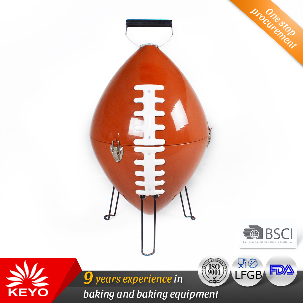 KY28015L US Football BBQ Grills